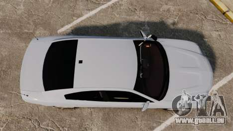 Dodge Charger RT 2012 Unmarked Police [ELS] für GTA 4 rechte Ansicht