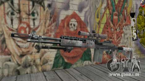 M14 EBR für GTA San Andreas