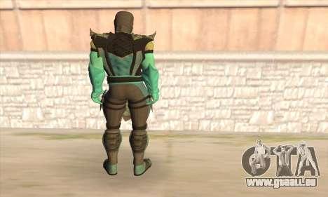Sub Zero pour GTA San Andreas deuxième écran