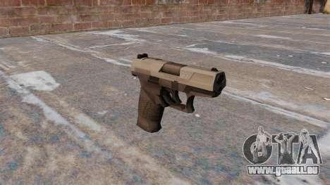 Pistolet semi-automatique Walther P99 MW3 pour GTA 4