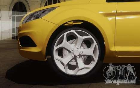 Ford Focus 2009 pour GTA San Andreas sur la vue arrière gauche