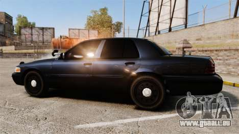 Ford Crown Victoria Stealth [ELS] für GTA 4 linke Ansicht