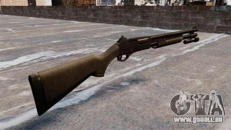 Vorderschaftrepetierflinte Remington 870 rund für GTA 4 Sekunden Bildschirm