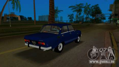 AZLK 2140 pour une vue GTA Vice City de la droite