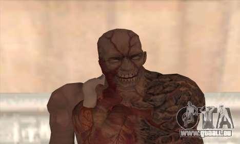 Tyrant T002 pour GTA San Andreas troisième écran