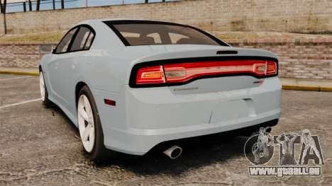 Dodge Charger 2012 für GTA 4 hinten links Ansicht