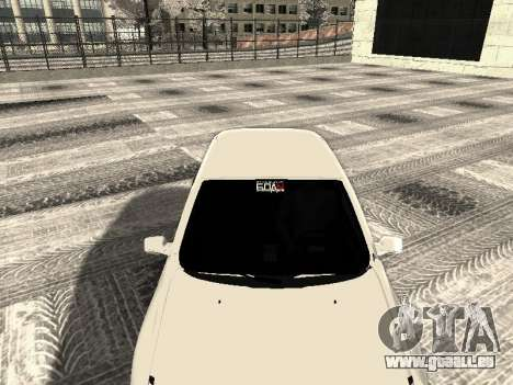 VAZ 2190-1119 für GTA San Andreas Rückansicht