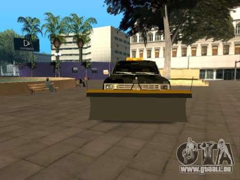 Chevrolet Blazer pour GTA San Andreas vue arrière