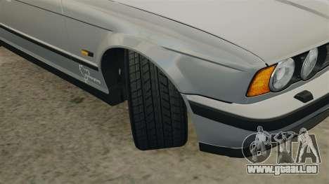 BMW M5 E34 pour GTA 4 est un côté