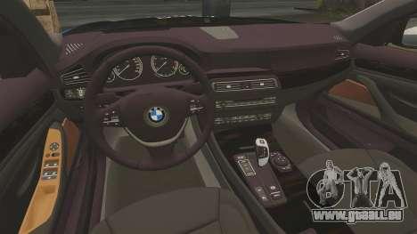 BMW 550d Touring Metropolitan Police [ELS] pour GTA 4 est un côté