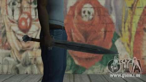 L'épée impériale pour GTA San Andreas troisième écran