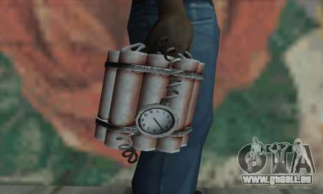 Dynamite für GTA San Andreas dritten Screenshot