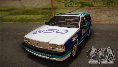 Volvo 850 Estate Turbo 1994 pour GTA San Andreas vue de côté