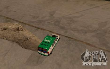 Mercedes-Benz Vito Ambulancia ACHS 2012 für GTA San Andreas rechten Ansicht