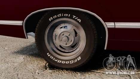 Chevrolet Impala 1967 pour GTA 4 Vue arrière