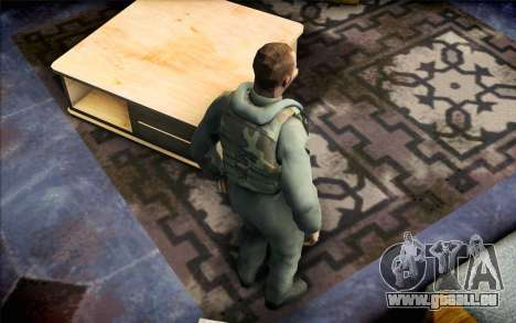 Nicolas de Call of Duty MW2 pour GTA San Andreas troisième écran