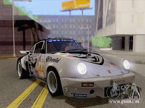 Porsche 911 RSR 3.3 skinpack 2 pour GTA San Andreas laissé vue