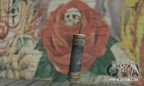Un bâton de dynamite de la Metro 2033 pour GTA San Andreas deuxième écran