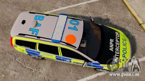 Volvo V70 Metropolitan Police [ELS] für GTA 4 rechte Ansicht