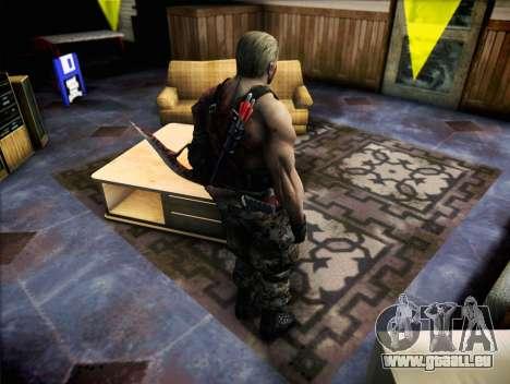Jack Krauser pour GTA San Andreas troisième écran