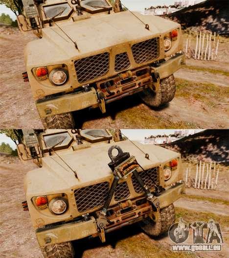 Oshkosh M-ATV pour GTA 4 est un côté