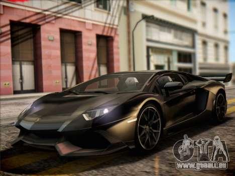 Lamborghini Aventador LP720 pour GTA San Andreas