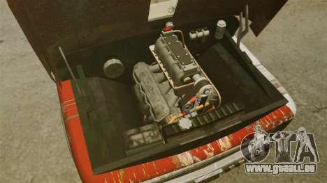 Chevrolet Tow truck rusty Rat rod für GTA 4 Rückansicht