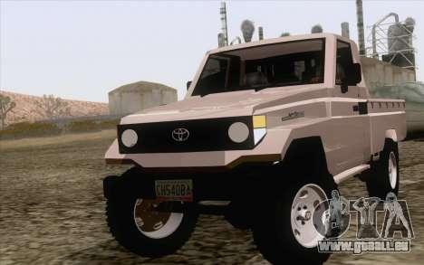 Toyota Fj70 2007 Pick Up pour GTA San Andreas