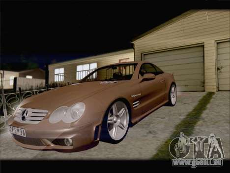 Mercedes SL500 v2 für GTA San Andreas Innenansicht