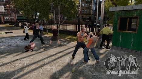 Die Beseitigung von Waffen für GTA 4 Sekunden Bildschirm