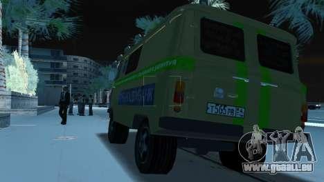 Collection UAZ-3741 pour GTA Vice City sur la vue arrière gauche