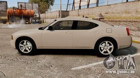 Dodge Charger Unmarked Police [ELS] pour GTA 4 est une gauche