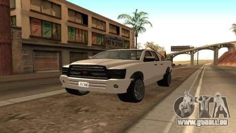 Bison von GTA 5 für GTA San Andreas