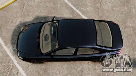 Volvo S60R Unmarked Police [ELS] pour GTA 4 est un droit