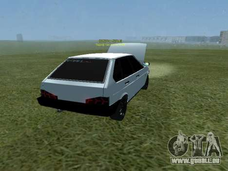 VAZ 2109 Opera Turbo pour GTA San Andreas laissé vue