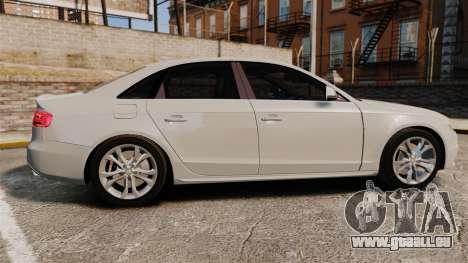 Audi S4 2010 pour GTA 4 est une gauche