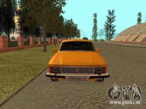 GAZ Volga 3102 pour GTA San Andreas vue de droite