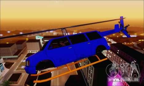 Fun Maverick für GTA San Andreas linke Ansicht