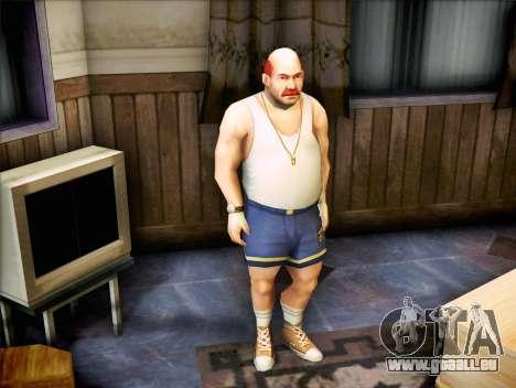 Der Trainer des Faustrechts für GTA San Andreas zweiten Screenshot