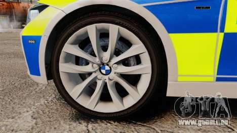 BMW F30 328i Metropolitan Police [ELS] pour GTA 4 Vue arrière