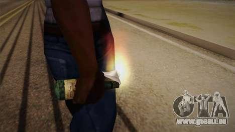 Cocktail Molotov de Max Payne pour GTA San Andreas troisième écran