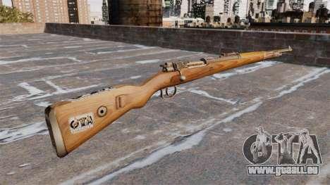 Kar98k fusil pour GTA 4 secondes d'écran
