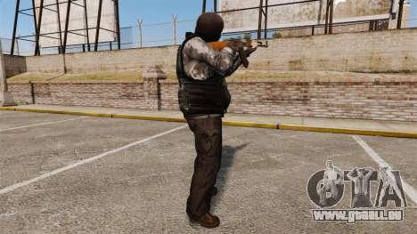 La tenue de terroristes pour GTA 4 secondes d'écran