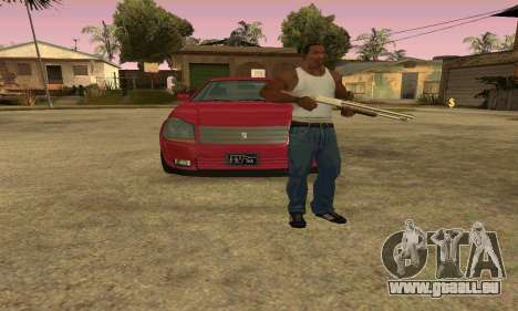 Presidente de GTA IV pour GTA San Andreas vue intérieure