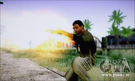 Lamar Davis GTA V pour GTA San Andreas quatrième écran