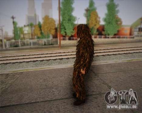 Le tireur d'élite de Arma 2 peau pour GTA San Andreas troisième écran