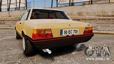 Ford Taunus GLS v2.0 für GTA 4 hinten links Ansicht