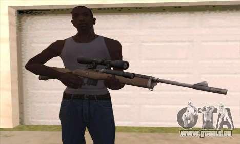 Scharfschützengewehr von Left 4 Dead 2 für GTA San Andreas dritten Screenshot