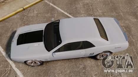 GTA V Declasse Gauntlet ZL1 2014 Facelift für GTA 4 rechte Ansicht