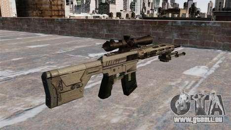 Scharfschützengewehr Remington R11 RSASS für GTA 4 Sekunden Bildschirm
